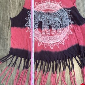 Tops - Crop Tank Top with Fringe - Perfect for Festivals